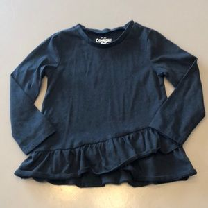 OshKosh tee with ruffle bottom
